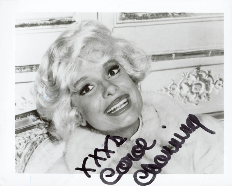 Image 1 for Carol Channing - Autographed Signed Photograph - HFSID 202168