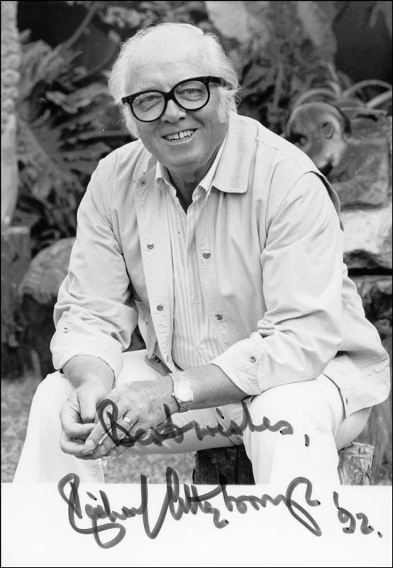 Image 1 for Sir Richard Attenborough - Autographed Signed Photograph 1992 - HFSID 202182