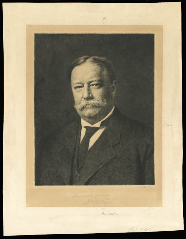 Image 3 for President William H. Taft - Autographed Signed Photograph - HFSID 202276