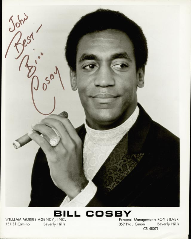 Image 1 for Bill Cosby - Inscribed Printed Photograph Signed In Ink - HFSID 202289