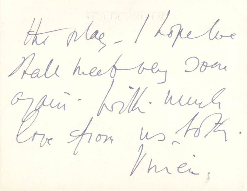 Image 3 for Vivien Leigh - Autograph Letter Signed 6/11 - HFSID 202541