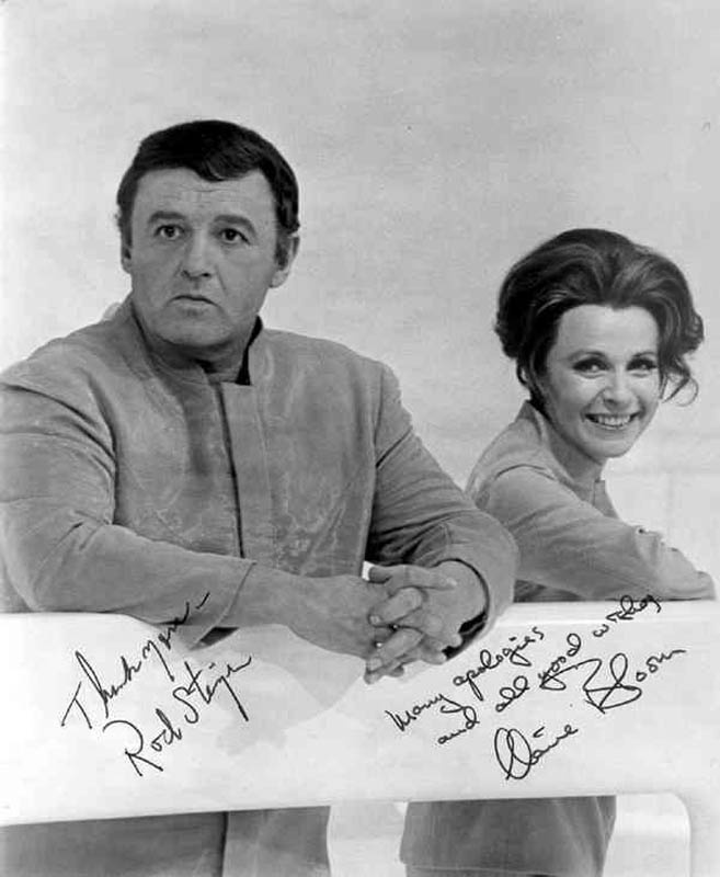 Rod Steiger - Autographed Signed Photograph co-signed by: Claire Bloom |  HistoryForSale Item 20270