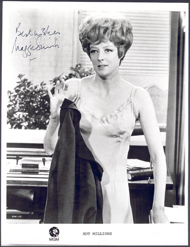 Image 1 for Dame Maggie Smith - Autographed Signed Photograph - HFSID 20280