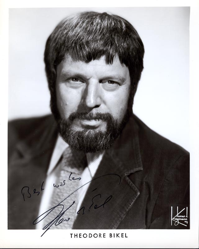 Image 1 for Theodore Bikel - Printed Photograph Signed In Ink - HFSID 203059