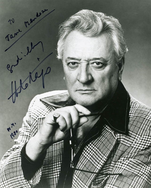 Image 1 for Italo Tajo - Autographed Signed Photograph 1980 - HFSID 203139
