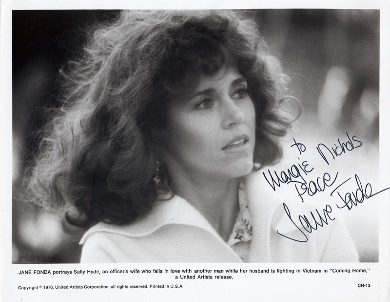 Image 1 for Jane Fonda - Autographed Inscribed Photograph - HFSID 20317