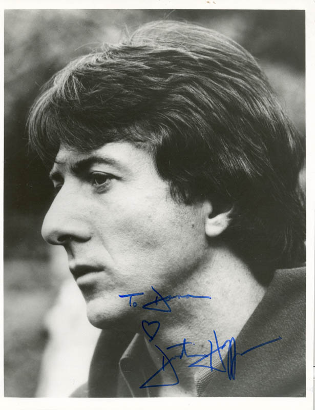 Image 1 for Dustin Hoffman - Autographed Inscribed Photograph - HFSID 20320