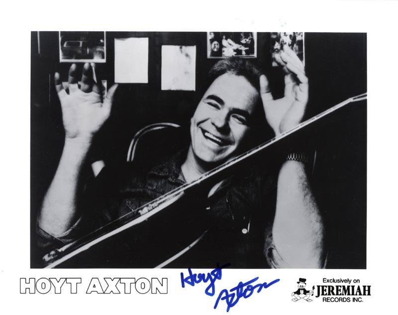 Image 1 for Hoyt Axton - Printed Photograph Signed In Ink - HFSID 203547