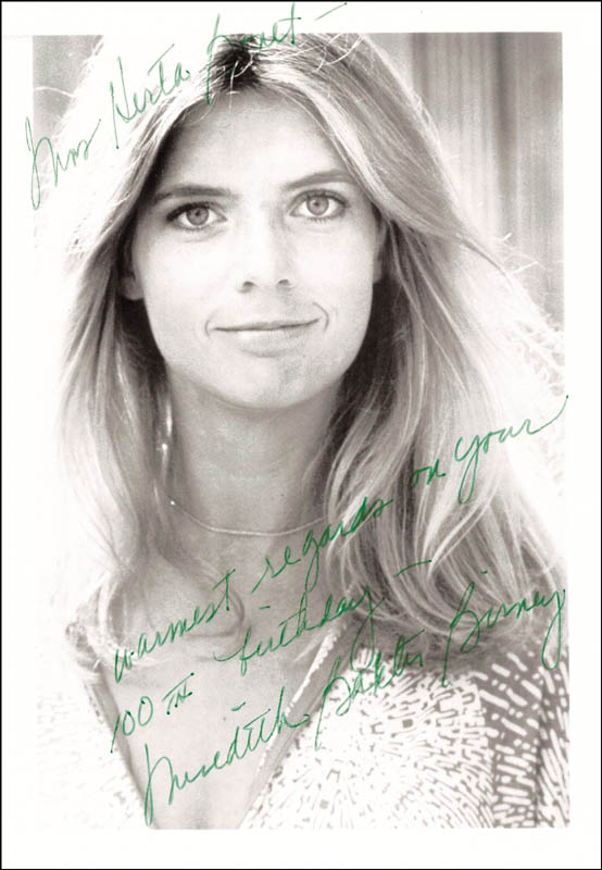 Image 1 for Meredith Baxter Birney - Autographed Inscribed Photograph - HFSID 203803