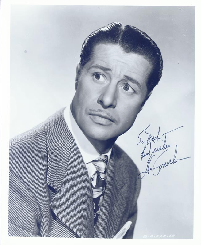 Image 1 for Don Ameche - Autographed Inscribed Photograph - HFSID 203922