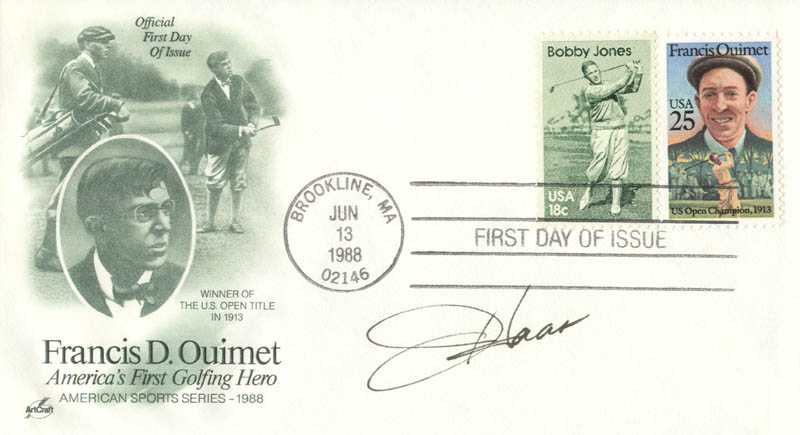 Image 1 for Jay Haas - First Day Cover Signed - HFSID 204000