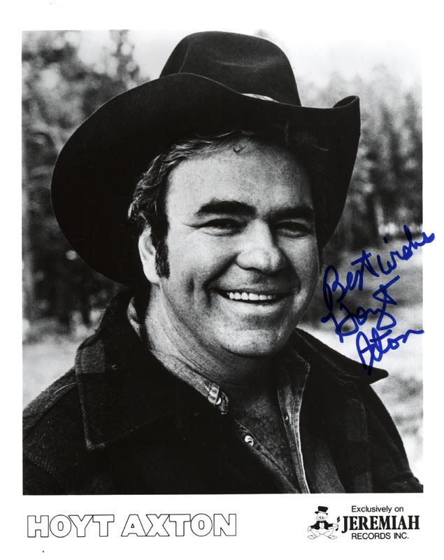 Image 1 for Hoyt Axton - Printed Photograph Signed In Ink - HFSID 204389