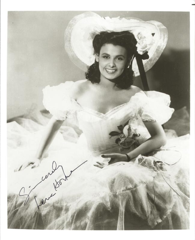 Image 1 for Lena Horne - Autographed Signed Photograph - HFSID 204398