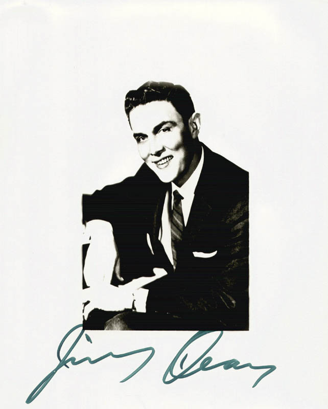 Image 1 for Jimmy Dean - Autographed Signed Photograph - HFSID 204740