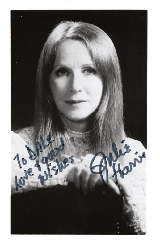 Image 1 for Julie Harris - Autographed Inscribed Photograph - HFSID 204811