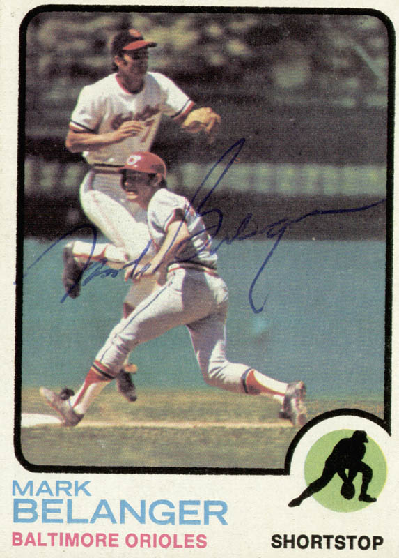 Image 1 for Mark Belanger - Trading/Sports Card Signed - HFSID 20498