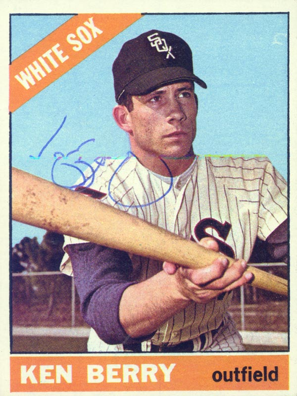 Image 1 for Ken Berry - Trading/Sports Card Signed - HFSID 20509