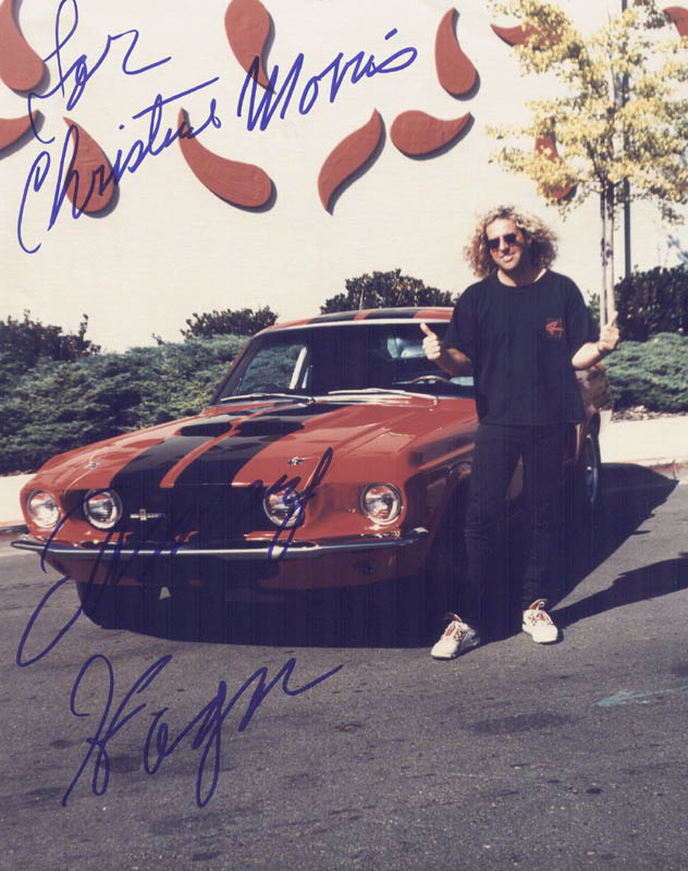 Image 1 for Sammy Hagar - Autographed Inscribed Photograph - HFSID 205200