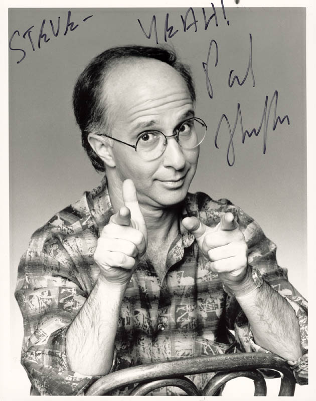 Image 1 for Paul Shaffer - Autographed Inscribed Photograph - HFSID 205452