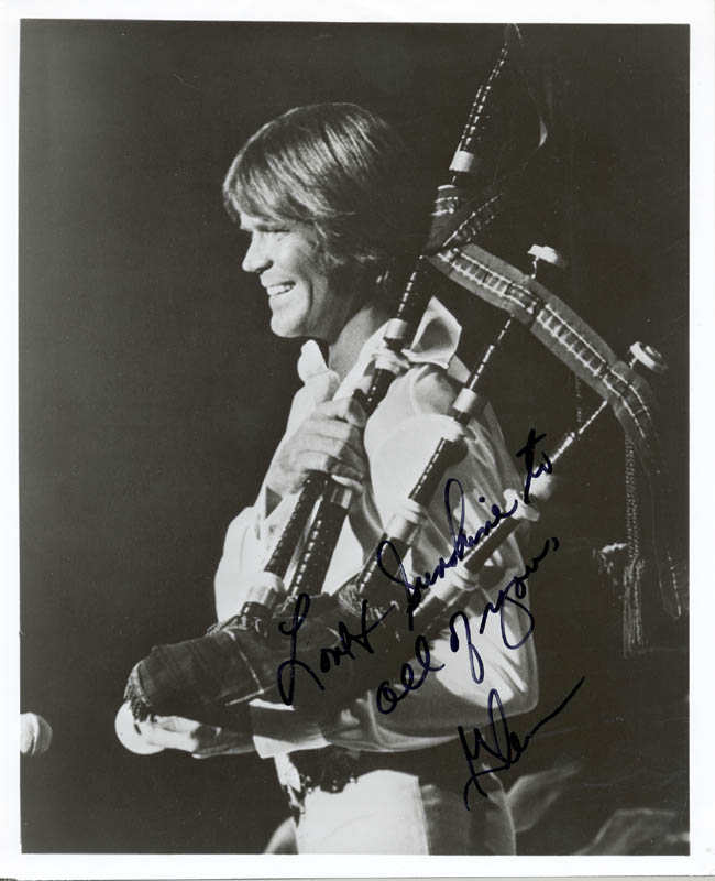 Image 1 for Glen Campbell - Autographed Signed Photograph - HFSID 205530