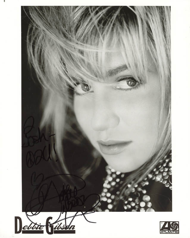 Image 1 for Deborah 'Debbie' Gibson - Autographed Signed Photograph - HFSID 205674
