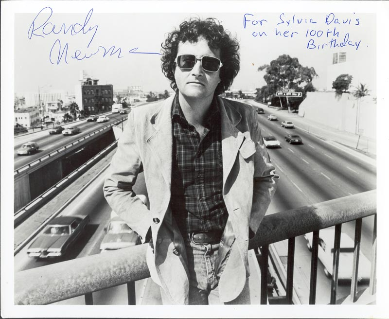 Image 1 for Randy Newman - Autographed Signed Photograph - HFSID 205737