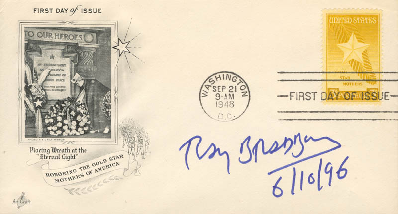Image 1 for Ray Bradbury - First Day Cover Signed 06/10/1996 - HFSID 206183