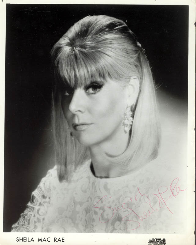Image 1 for Sheila Macrae - Printed Photograph Signed In Ink - HFSID 206290