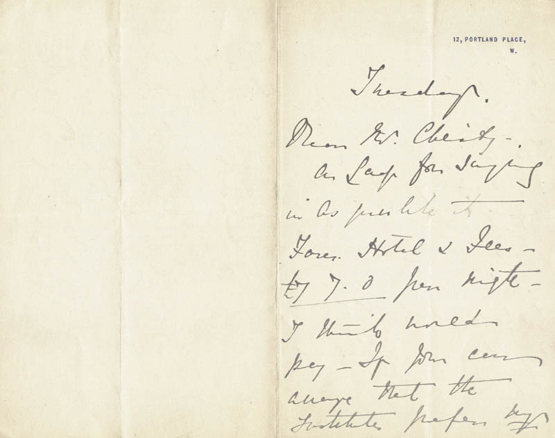 Image 3 for Madge Kendal - Autograph Letter Signed - HFSID 206359