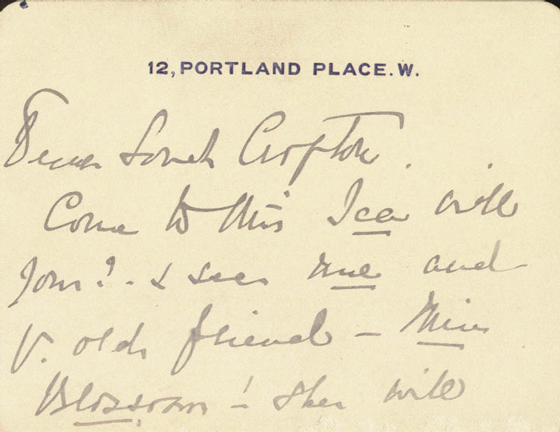 Image 3 for Madge Kendal - Autograph Letter Signed - HFSID 206363