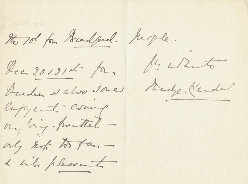 Image 1 for Madge Kendal - Autograph Letter Signed 7/3 - HFSID 206371