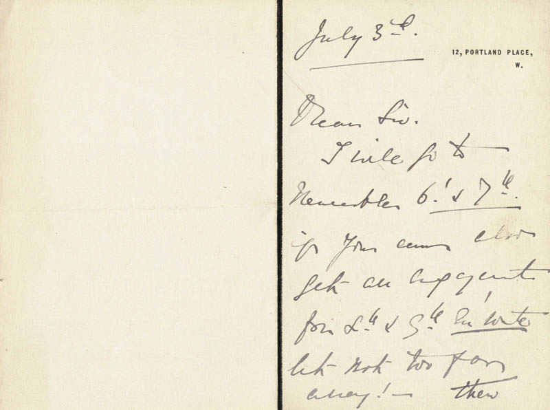 Image 3 for Madge Kendal - Autograph Letter Signed 7/3 - HFSID 206371