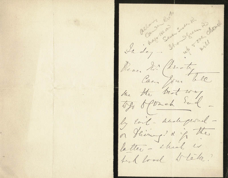 Image 3 for Madge Kendal - Autograph Letter Signed - HFSID 206372