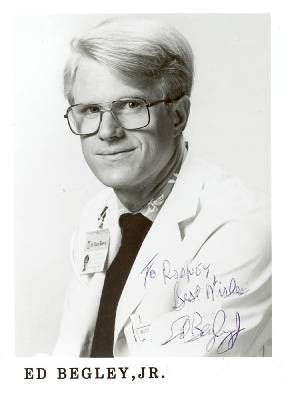 Image 1 for Ed Begley Jr. - Autographed Inscribed Photograph - HFSID 206938