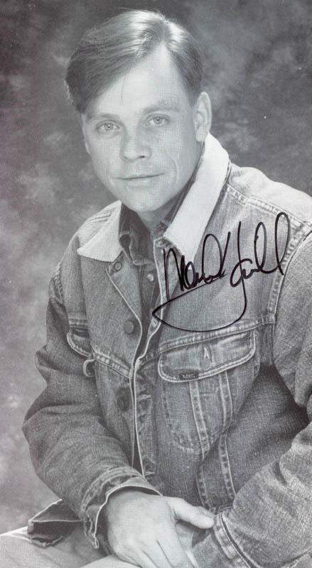 Image 1 for Mark Hamill - Autographed Signed Photograph - HFSID 207002