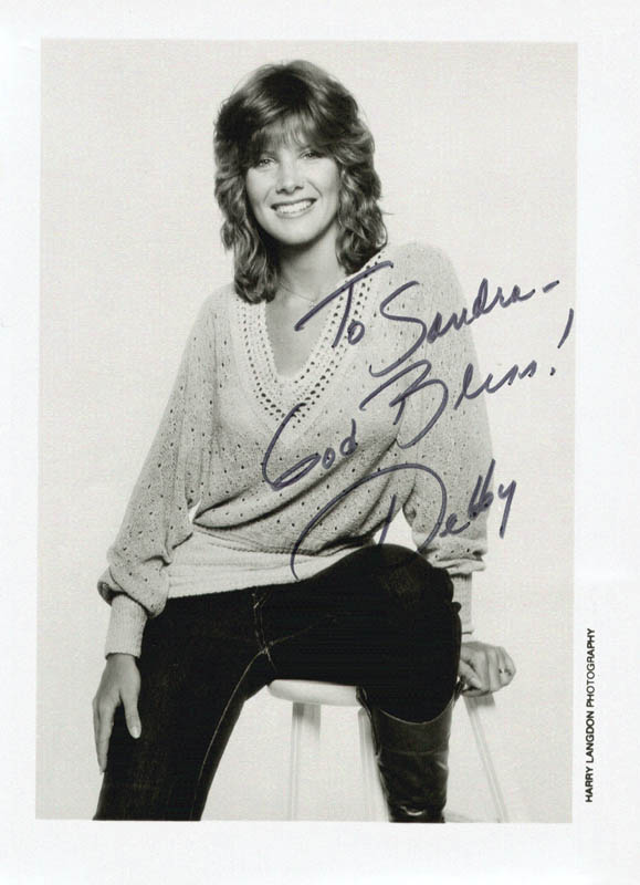 Image 1 for Debby Boone - Autographed Inscribed Photograph - HFSID 207012