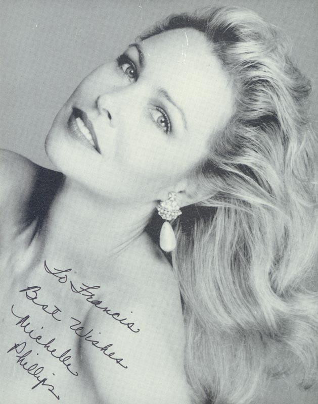 Image 1 for Michelle G. Phillips - Autographed Inscribed Photograph - HFSID 207040