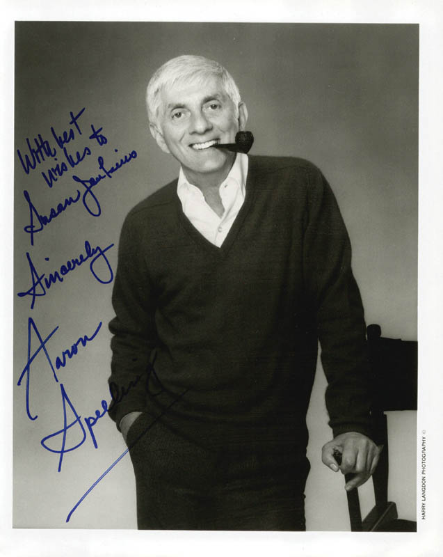 Image 1 for Aaron Spelling - Autographed Inscribed Photograph - HFSID 207630
