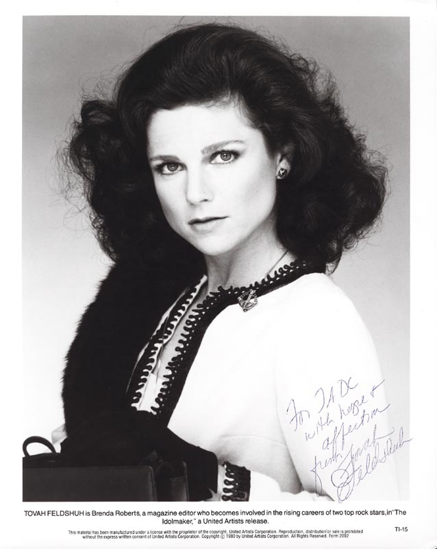 Image 1 for Tovah Feldshuh - Autographed Inscribed Photograph - HFSID 207657