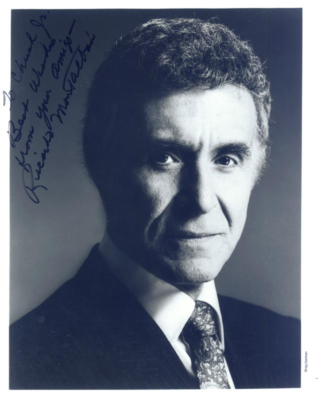 Image 1 for Ricardo Montalban - Autographed Inscribed Photograph - HFSID 207741