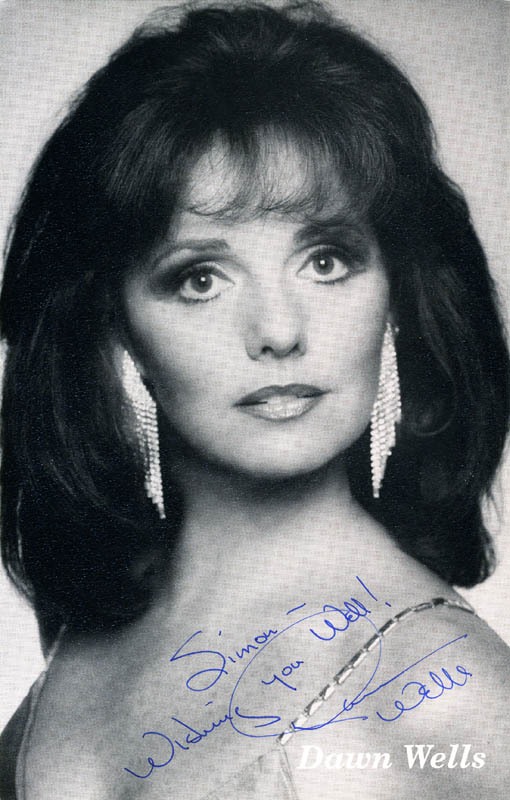 Image 1 for Dawn Wells - Autographed Inscribed Photograph - HFSID 207897