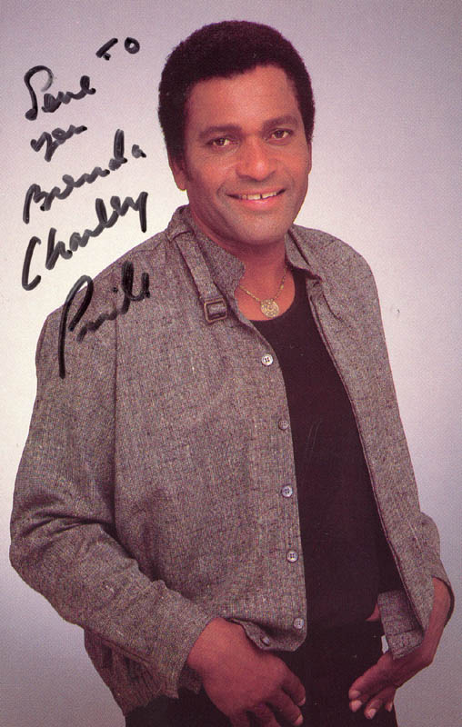 Image 1 for Charley Pride - Inscribed Picture Postcard Signed - HFSID 208256