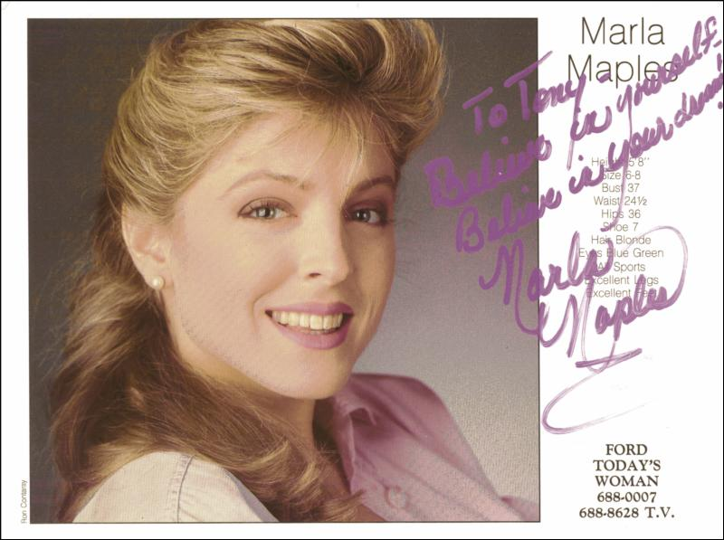 Image 1 for Marla Maples - Autographed Signed Photograph - HFSID 208321