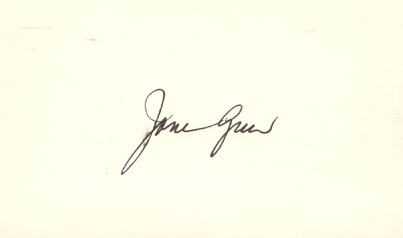 Image 1 for Jane Greer - Autograph Letter Double Signed - HFSID 208715