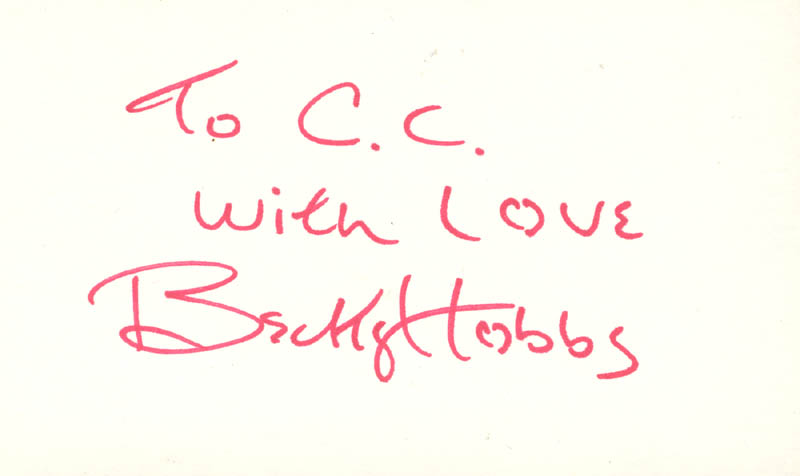 Image 1 for Becky Hobbs - Autograph Note Signed - HFSID 208746