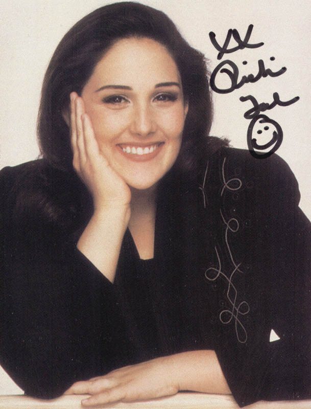 Image 1 for Ricki Lake - Picture Post Card Signed - HFSID 208861