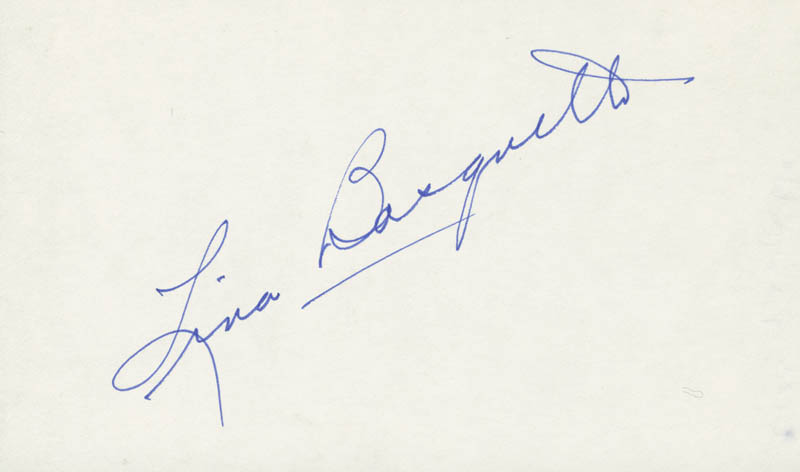 Image 1 for Lina Basquette - Autograph - HFSID 208957