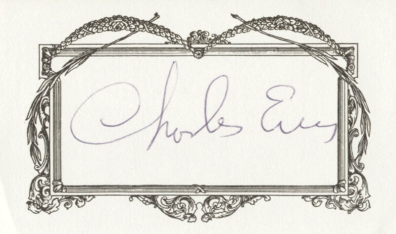 Image 1 for Charles Evers - Printed Card Signed In Ink - HFSID 209136