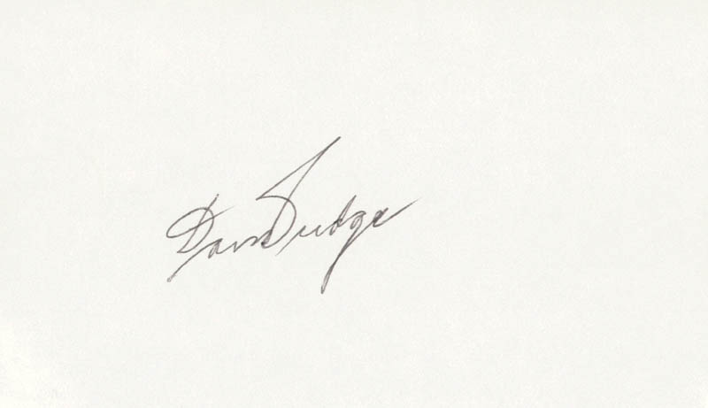 Image 1 for Don Budge - Autograph - HFSID 209143