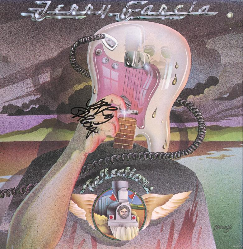 Image 1 for The Grateful Dead (Jerry Garcia) - Record Album Cover Signed - HFSID 209641